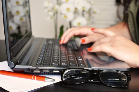 vertalerspassie op de laptop