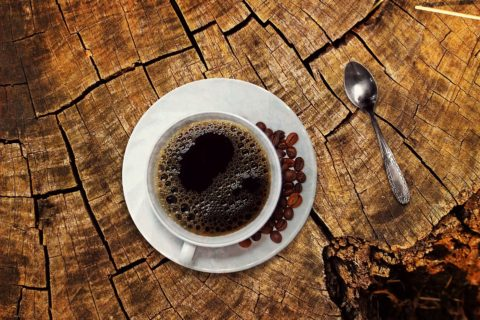 kkopje koffie met de buurvrouw